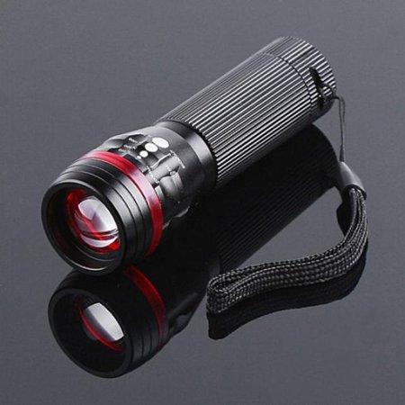Powerful 3500 Lumens Zoomable CREE XML T6 LED 18650 Flashlight Torch Lamp (Cree Flashlight 18650)