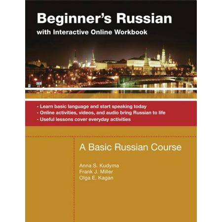 Beginners Russian With Interactive Online Workbook