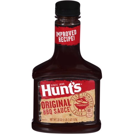 Hunts Original Bbq Sauce  18 Oz