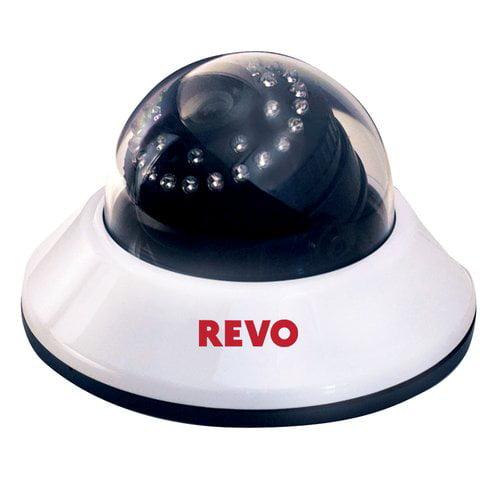 REVO America RCDS700-1BNC 700 TVL Indoor Dome Surveillance Camera with 100 ft.  Night Vision