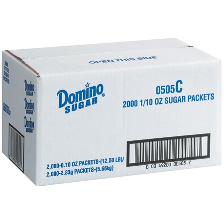 Domino Packets Sugar 2000 Ct Box