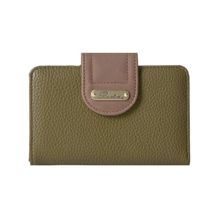Buxton Womens Colorblock Organizational Tab