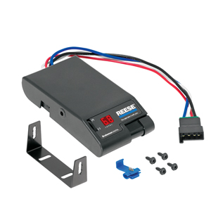 Reese Brakeman Digital Brake Control, For 1 To 4 Axle Trailers, Timed Actuated