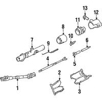 Genuine OE GM Ignition Lock Cylinder 7840574