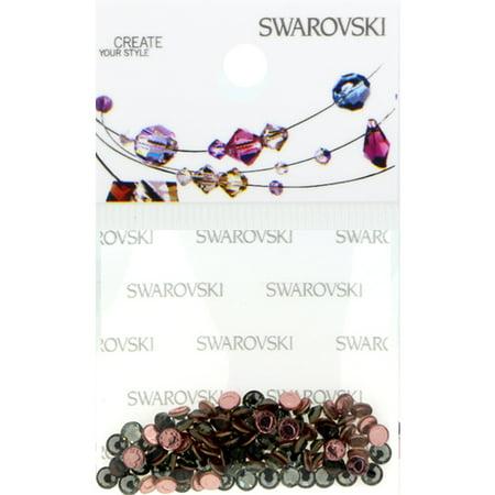 Swarovski 2038 Hot Fix Rhinestones FlatBack 10ss Black Diamond 100 pcs