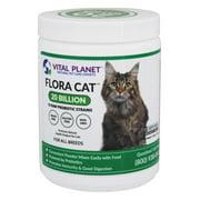 Vital Planet - Flora Cat Flora Cat Powder Daily Probiotic 30 Servings 20 Billion CFU - 3.92 oz.