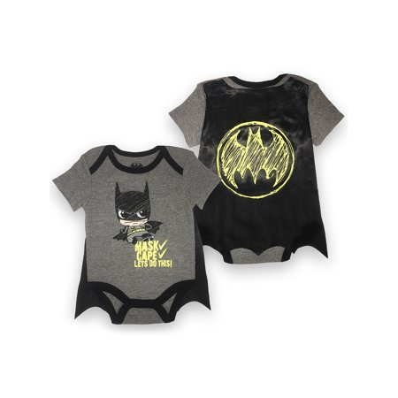 Batman Outfit For Boys (Batman Bodysuit and Cape Set (Baby)