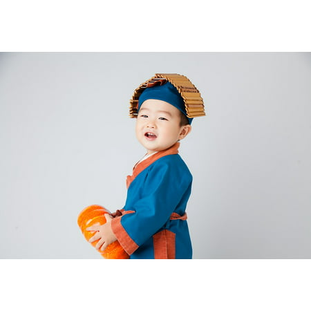 LAMINATED POSTER Cute Kids Costume Child Small Farmer Poster Print 24 x 36](Costume Farmer)