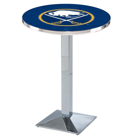 Buffalo Sabres L217 36 Inch Chrome Pub Table by