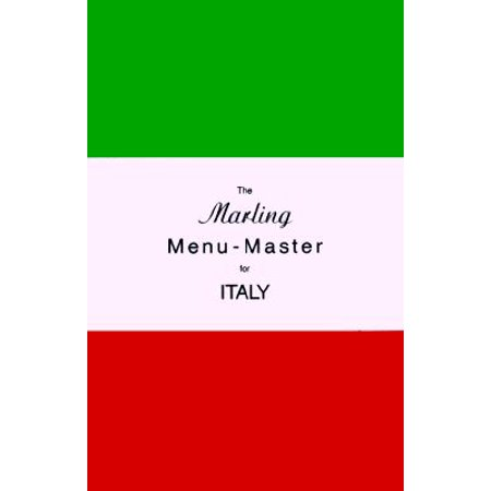 - The Marling Menu-Master for Italy