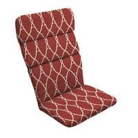 "Better Homes & Gardens Trellis 45.5"" Outdoor Adirondack Chair Cushion"