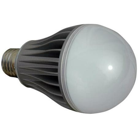 Larson Electronics LED-A19-10-E26-1227VAC-BLU 120 - 277V AC Directional LED Light Bulb, 10 watt LED A19 Style Replacement for Standard E26 Light Bulb Socket, - 10 800 Watt Blue Cone