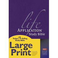 NKJV Life Application Study Bible, Second Edition, Large Print (Red Letter, Hardcover)