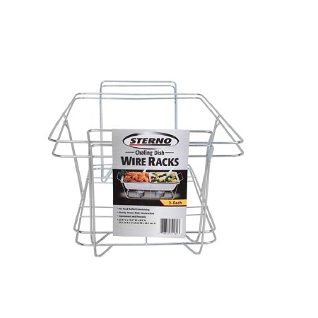 Chafing Dish Wire Rack (2 pk.), For Food Buffet Entertaining By Sterno - Buffet For Sale
