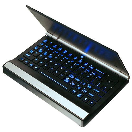 IOGEAR GKM571R - Keyboard - backlit - wireless - 2.4 GHz