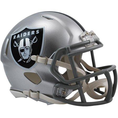Riddell Oakland Raiders Revolution Speed Mini Football Helmet