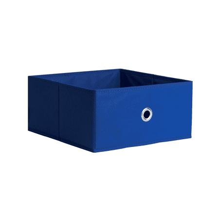 iCube Half Fabric Drawer Blue
