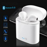 Bluetooth Headphones Wireless Earbuds Noise Canceling with 2 Wireless Earphones Built-in Mic and Charging Case