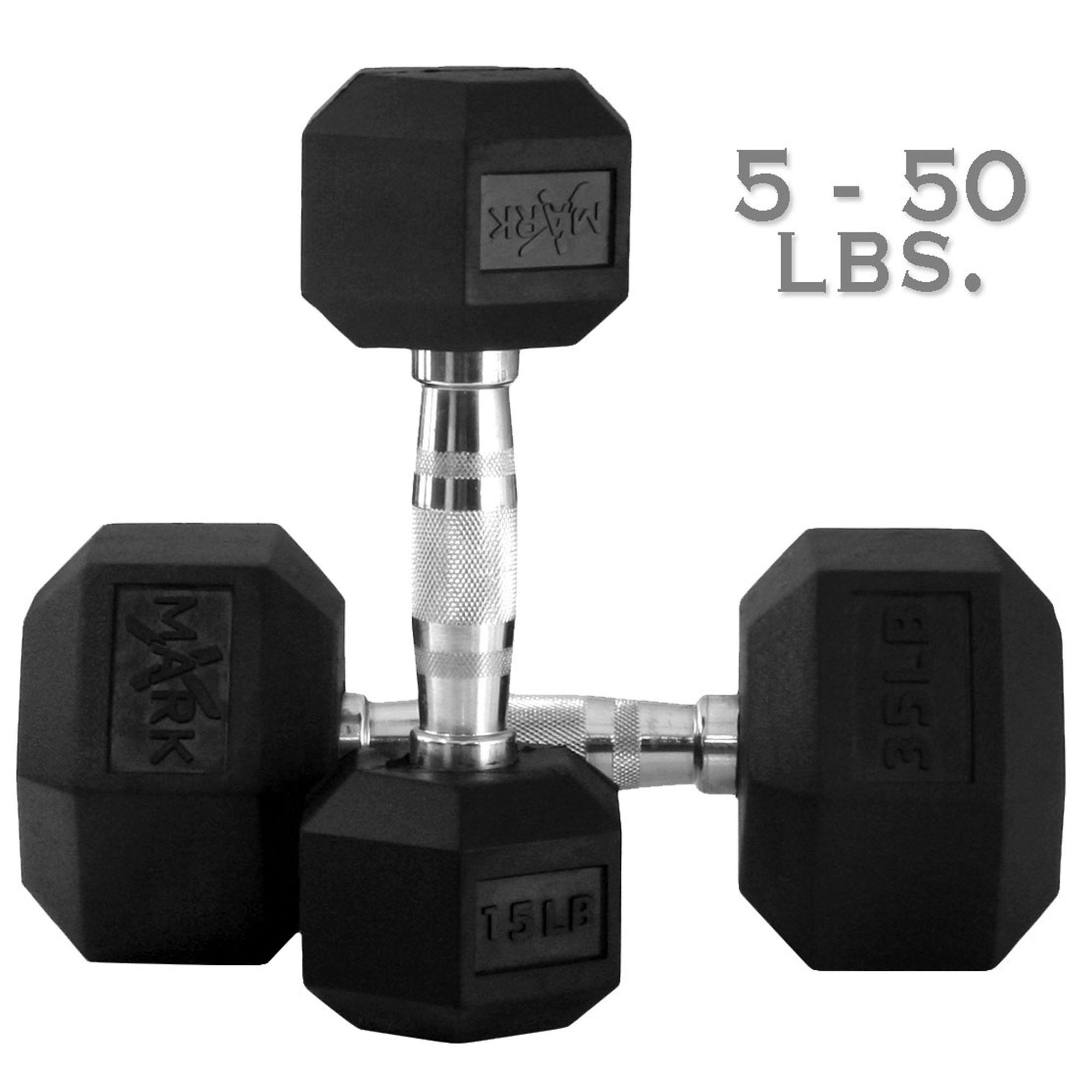 Dumbbell Set Up To 50: XMark 50 Lb. Adjustable Dumbbell-Pair