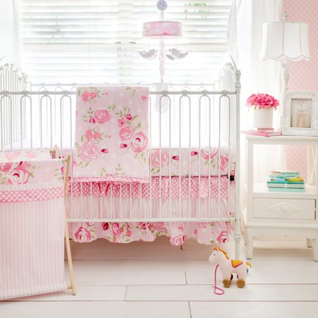 Celestial Baby Bedding - Rosebud Lane 3 Piece Crib Bedding Set by My Baby Sam