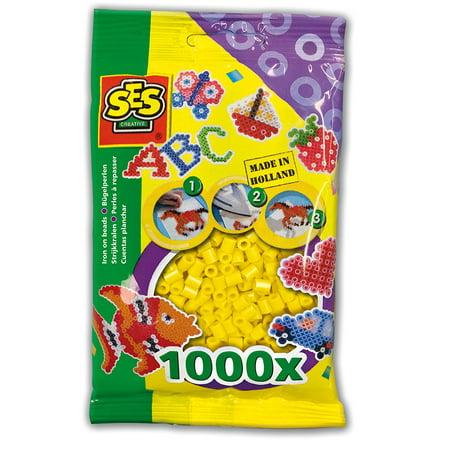 SES Creative Beads 1000 Pcs. - Yellow](Yellow Beads)
