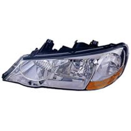 Go-Parts » 2002 - 2003 Acura TL Front Headlight Headlamp Assembly Front Housing / Lens / Cover - Left (Driver) 33151-S0K-A12 AC2518102 Replacement For Acura