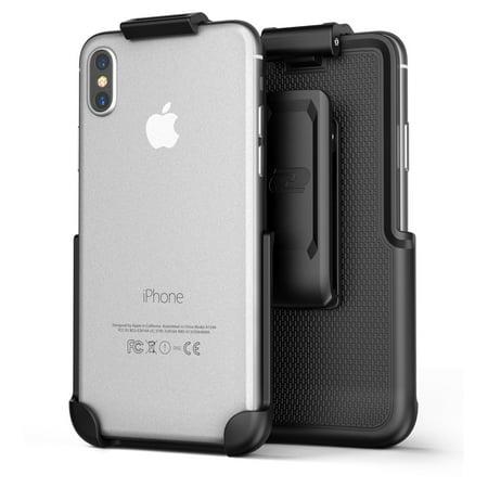 premium selection a50e5 8056f Apple iPhone X Belt Clip Companion Holster - By Encased (case free design)