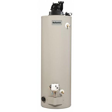 RELIANCE WATER HEATER CO Power Vent Water Heater, Natural Gas, 50-Gals. 6 50