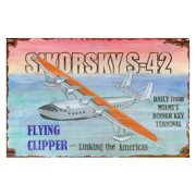 Sikorsky Flying Wall Art