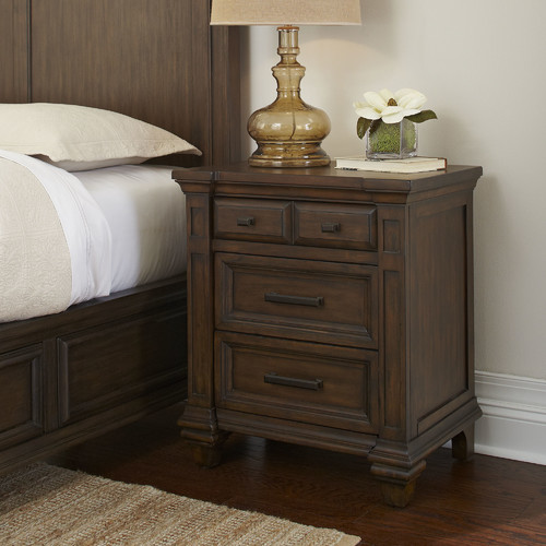 Darby Home Co Bartlette 3 Drawer Nightstand