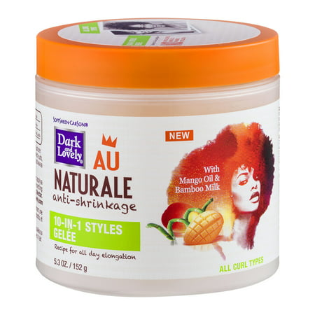 SoftSheen-Carson Dark and Lovely Au Naturale Anti-Shrinkage 10-in-1 Styles Gele, 5.3