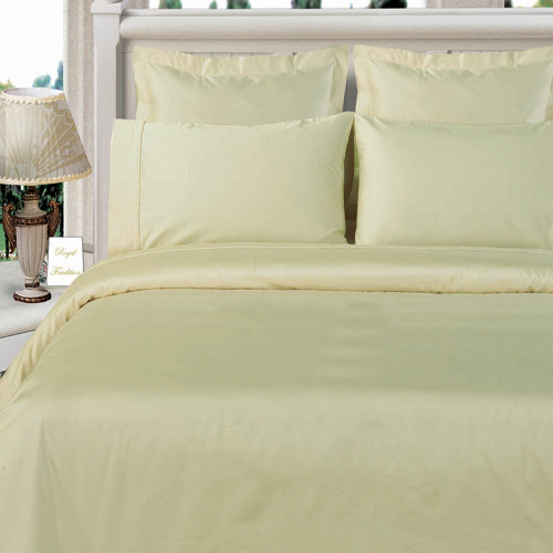Luxurious 600 Thread count 100% Cotton Solid Duvet Cover ...