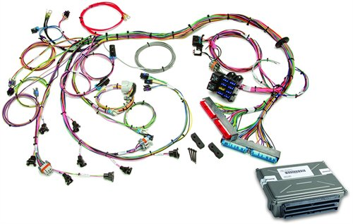 painless performance products 60713 efi wiring harness