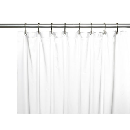 Hotel Collection Premium Heavy Duty Vinyl Shower Curtain Liner With Metal Grommets