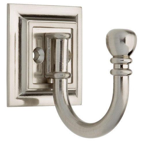 Brainerd Decorative Architectural Ball End Prong Hook (Set of 2)