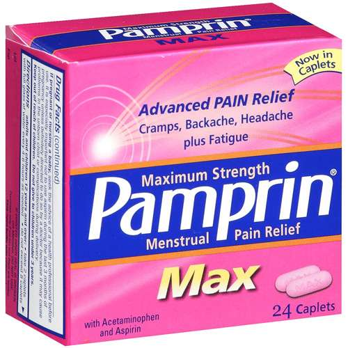 Pamprin Maximum Strength Max Menstrual Pain Relief - 24ct
