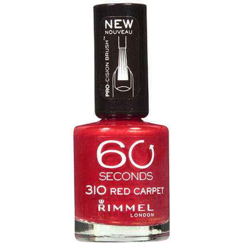 Coty Rimmel 60 Seconds Nail Polish, 0.4 oz