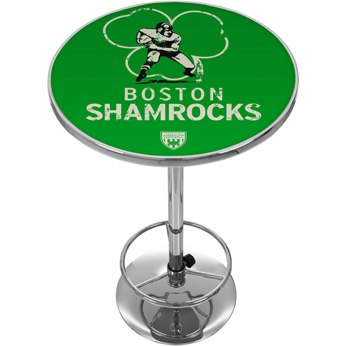 VAF Boston Shamrocks Chrome Pub Table