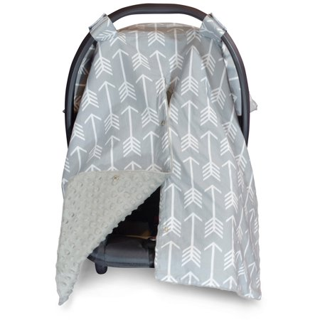 Kids N Such 2 In 1 Car Seat Canopy Cover With Peekaboo OpeningTM