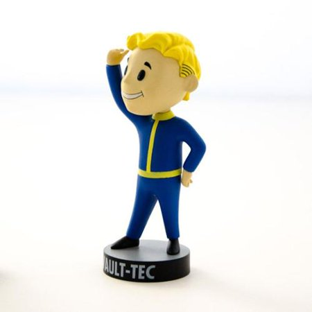 Gaming Heads Fallout 4 Vault Boy 111 Series 1 Perception Bobble Head
