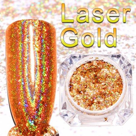 Mirror Nail Polish Plating Gold Paste Metal Color Gel Stainless Steel DIY