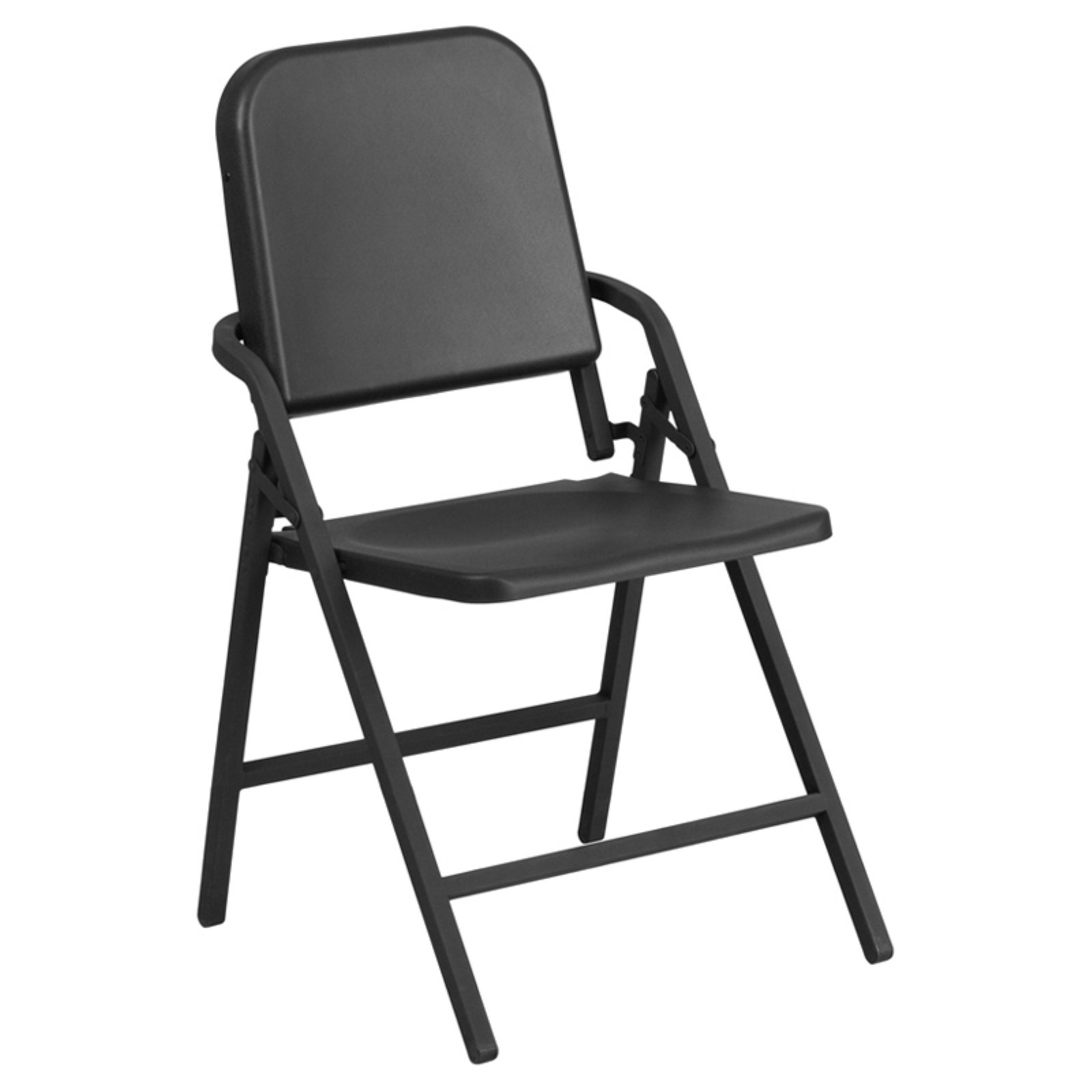 Flash Furniture HERCULES Series Black High Density Folding Melody Band/Music Chair