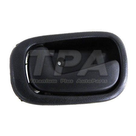 - 1998,1999,2000,2001,2002 Toyota Corolla Front,Left DOOR INNER HANDLE TEXTURE BLACK MANUAL LOCK USA TYPE
