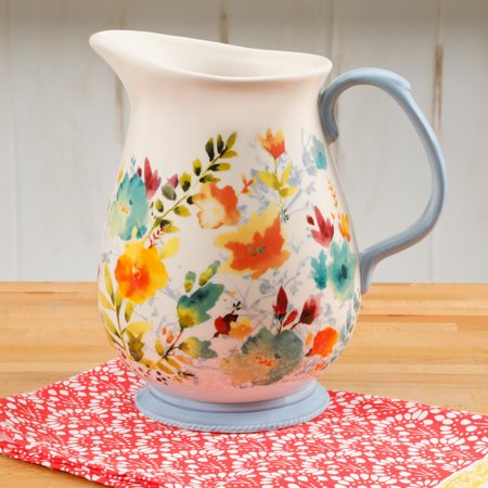 The Pioneer Woman 3.2 Quart Willow Pitcher (Crystal Martini Pitcher)