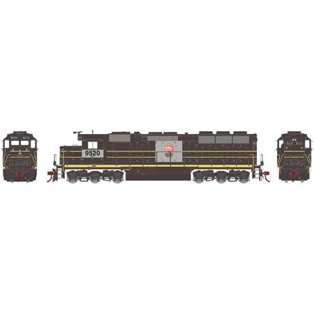 Athearn 65126 HO MKCX SD45 Diesel Locomotive w/DCC & Sound RTR