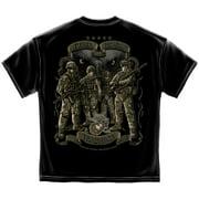 Marine Corps, USMC T-Shirt Usmc Time Honor Tradition Eagle Black