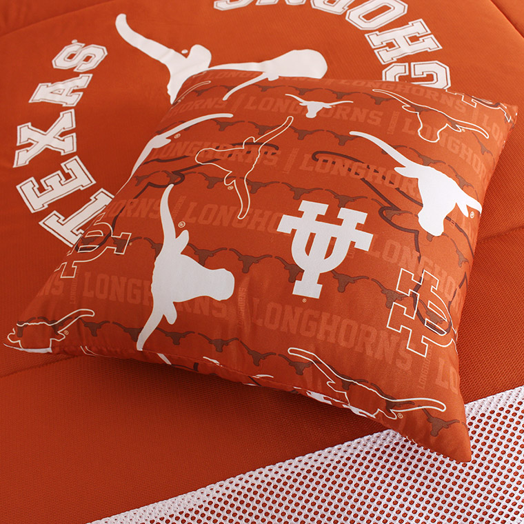 Texas All Over Pillow