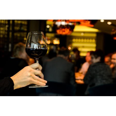 LAMINATED POSTER Red Lounge Restaurant Toast Wine Cheers Poster Print 24 x (Nosh Restaurant And Wine Lounge Omaha Ne)