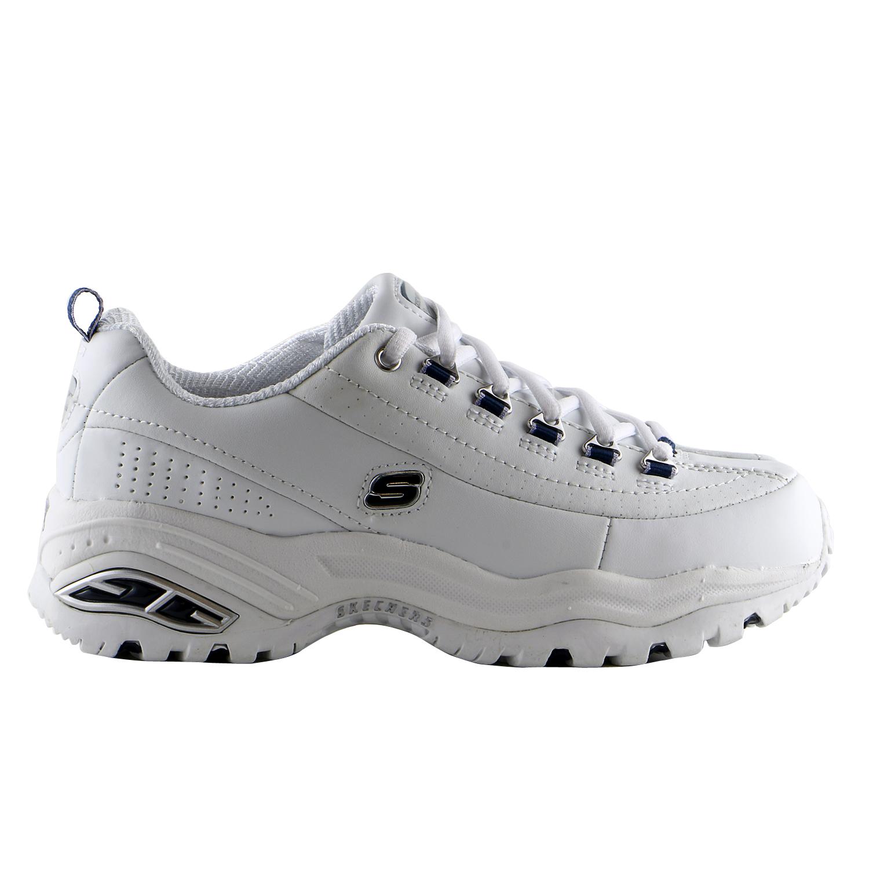 Skechers Premium Smooth Leather Walking Sneaker Shoe - Wo...