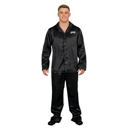 T Birds Grease (Grease Black T Birds Pajama Pants and Long Sleeve Shirt)